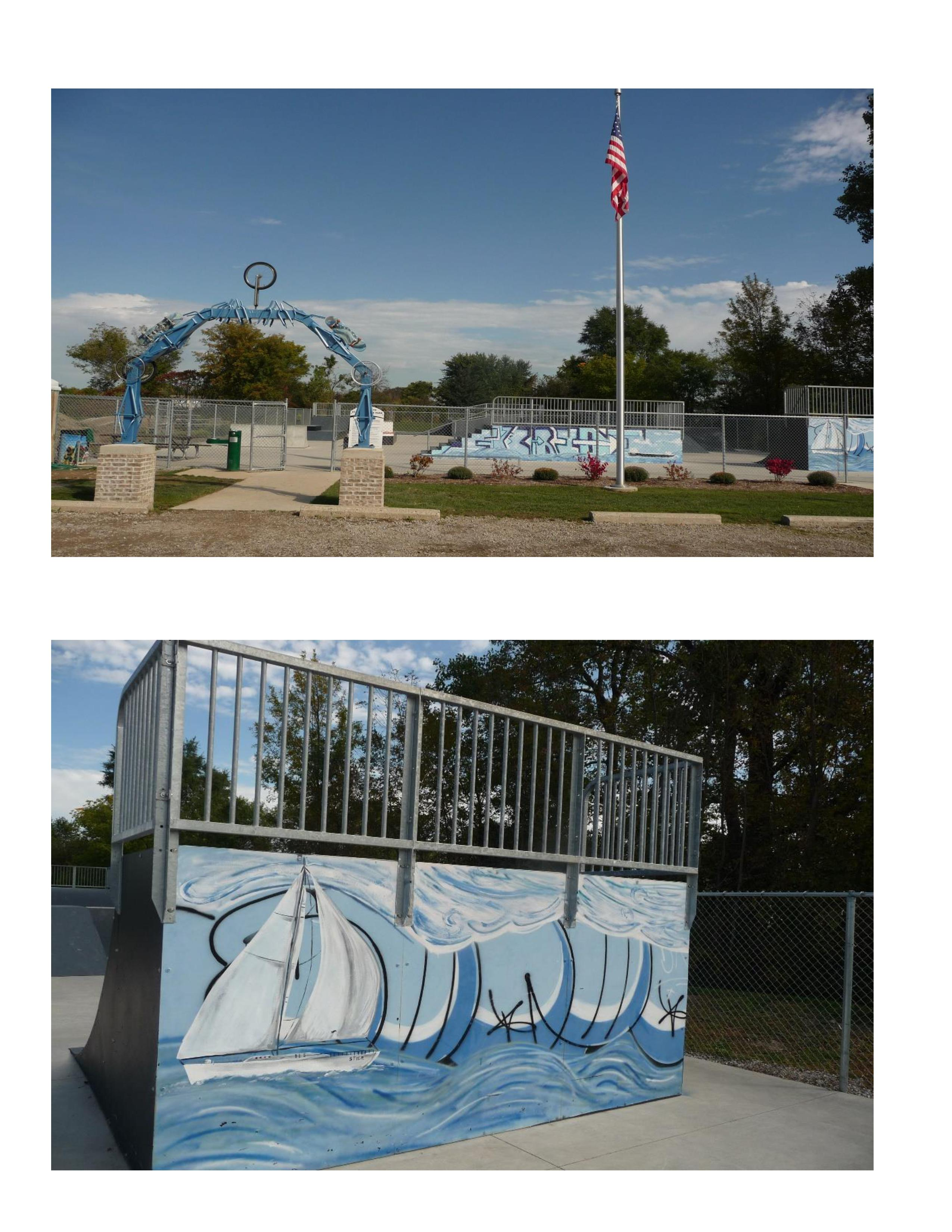 Skate Arch and Artwork (1)
